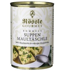 6 Suppen- Maultäschle in feine