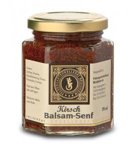 Kirsch Balsam Senf , großes Gl